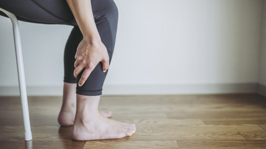 Women's calf pain