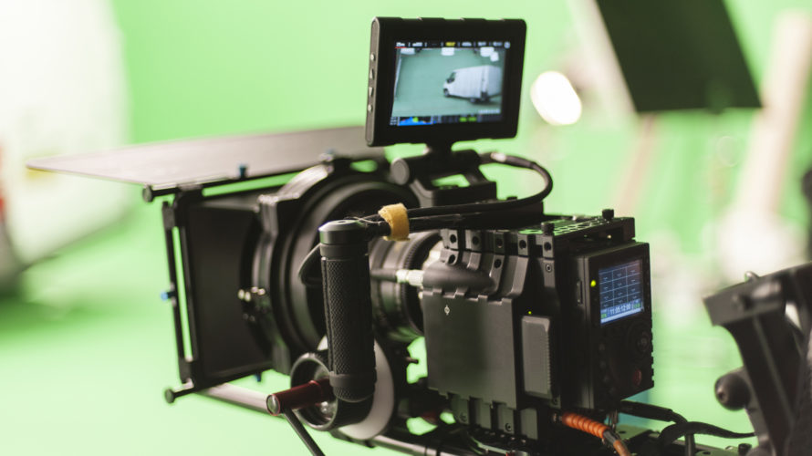 Digital Cinema Camera On set